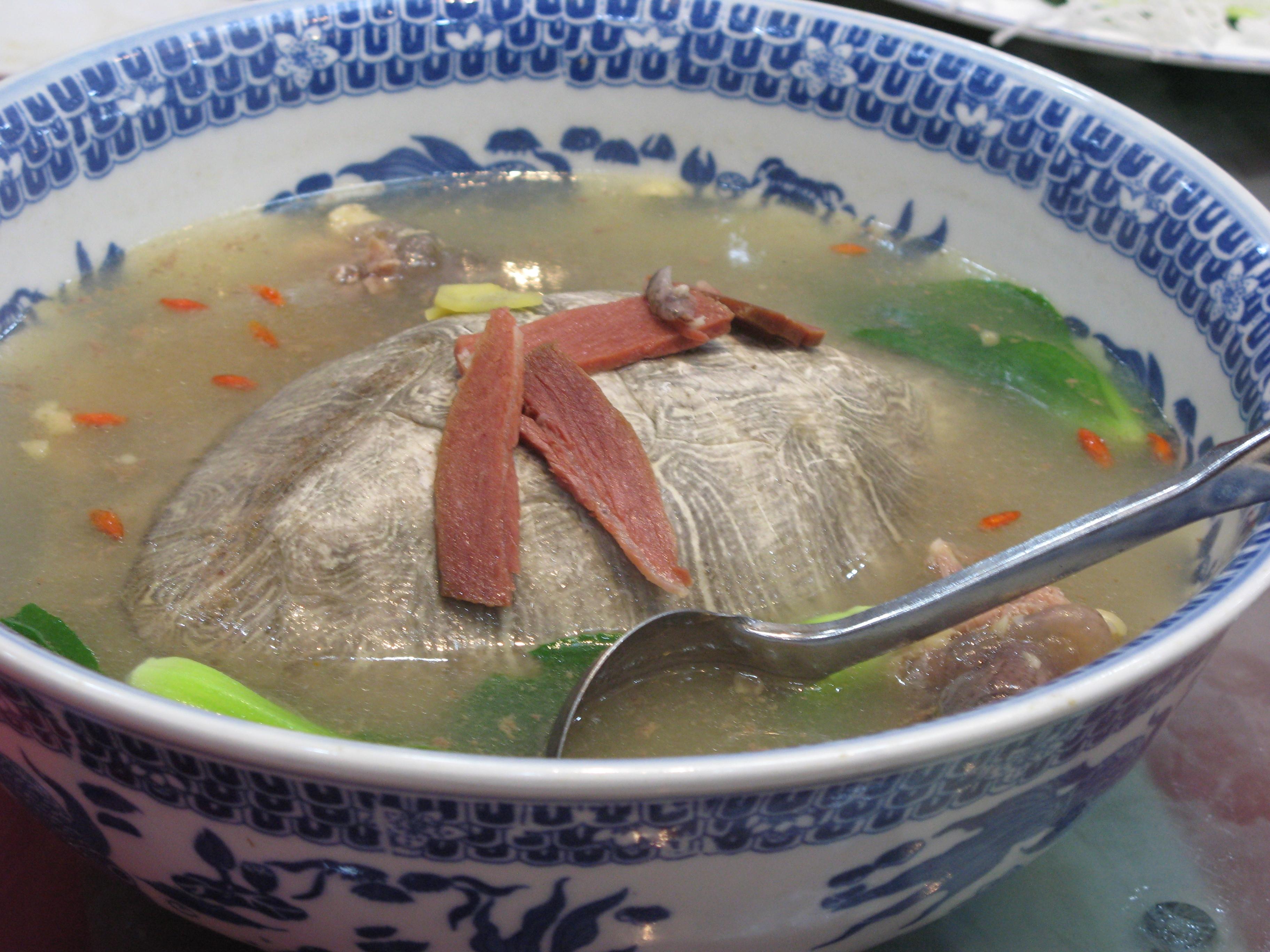 Черепаший суп (Азия и США)
