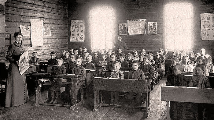 Школа в дореволюционной России.