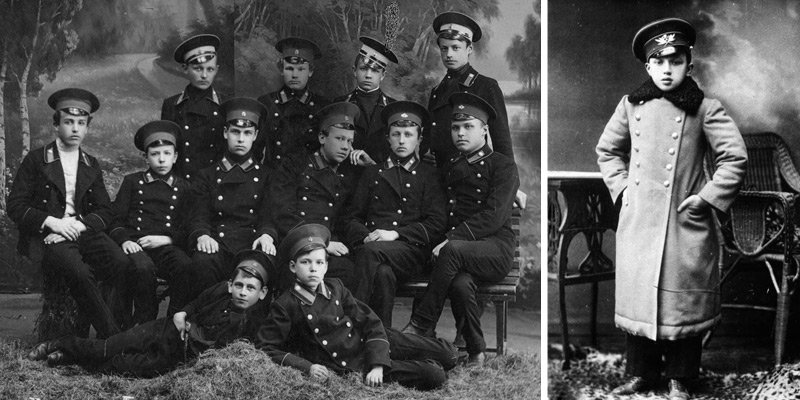 Школьная форма царской России