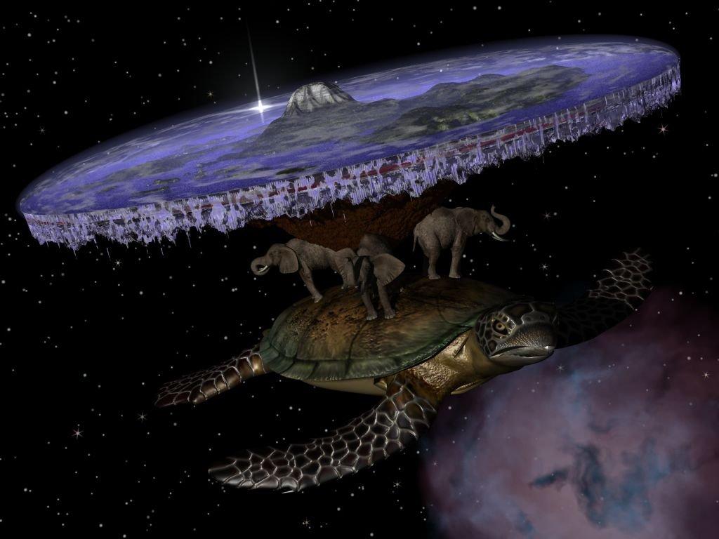 Космоса не существует в реальности