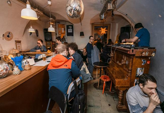 Кафе-прачечная «Стирка 40»