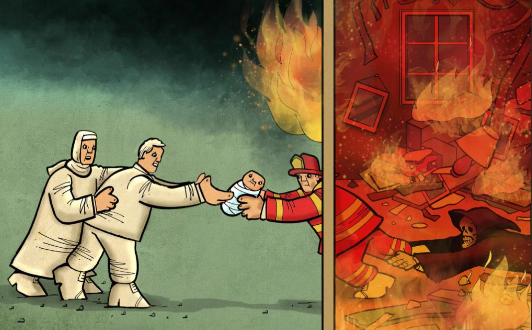 Комиксы, спасающие жизни детей