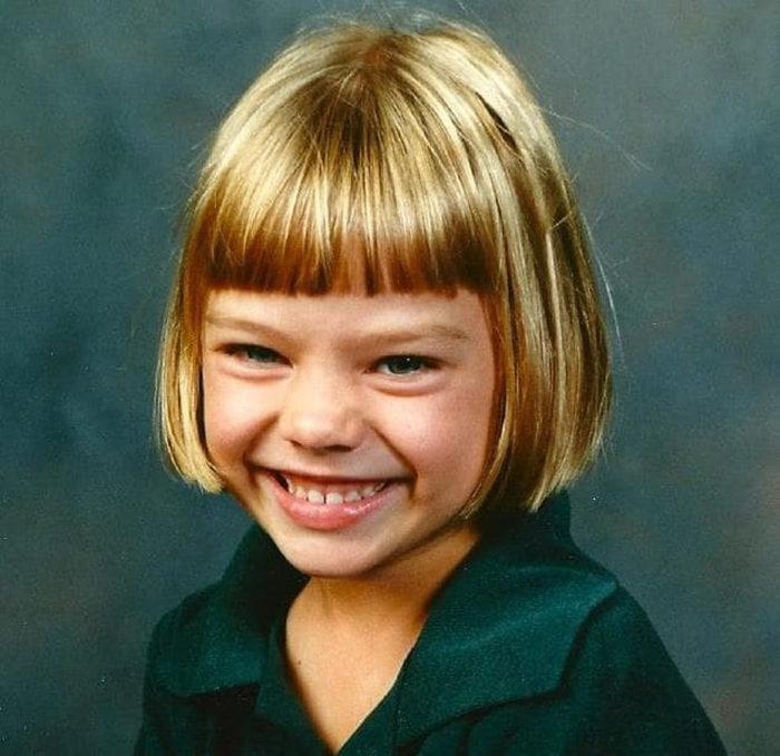 Марго Робби в детстве